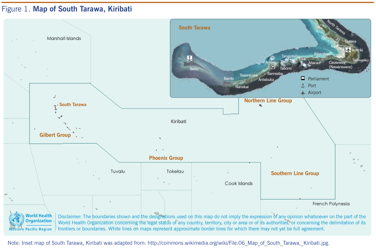Response to a large rotavirus outbreak on South Tarawa Kiribati